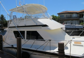 High Bid 55' Hatteras 1988