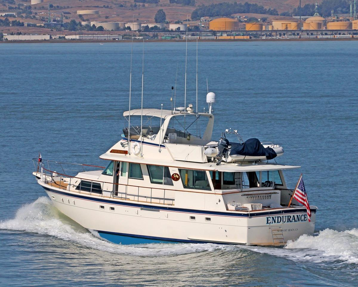 61 Hatteras Port Profile