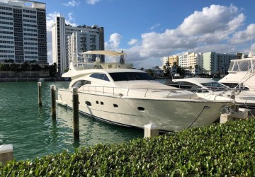 Immaculate Condition!! 68' Ferretti Yachts 2005