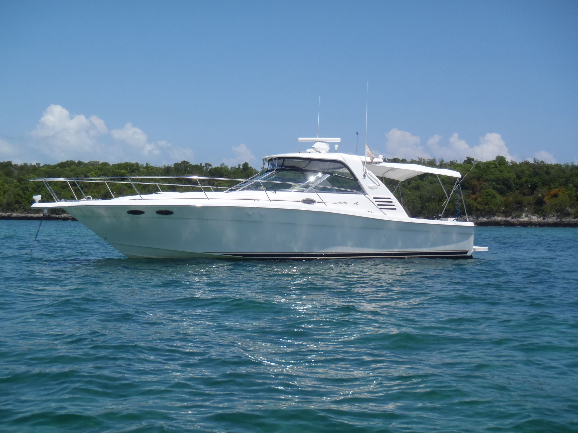 37 sea ray 1999 370 express cruiser stuart  florida sold