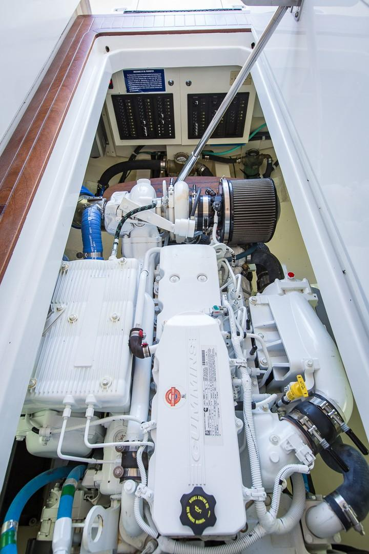 Trawler Engine Room: 32 Legacy Yachts 2016 Lady Z Cape Coral, Florida