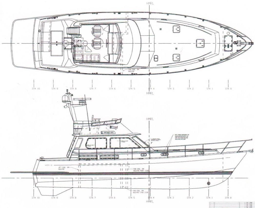 49 Alden 2007 Northern Light Seattle Washington Sea Ray Boat Wiring Diagram Inverter Marine Plans