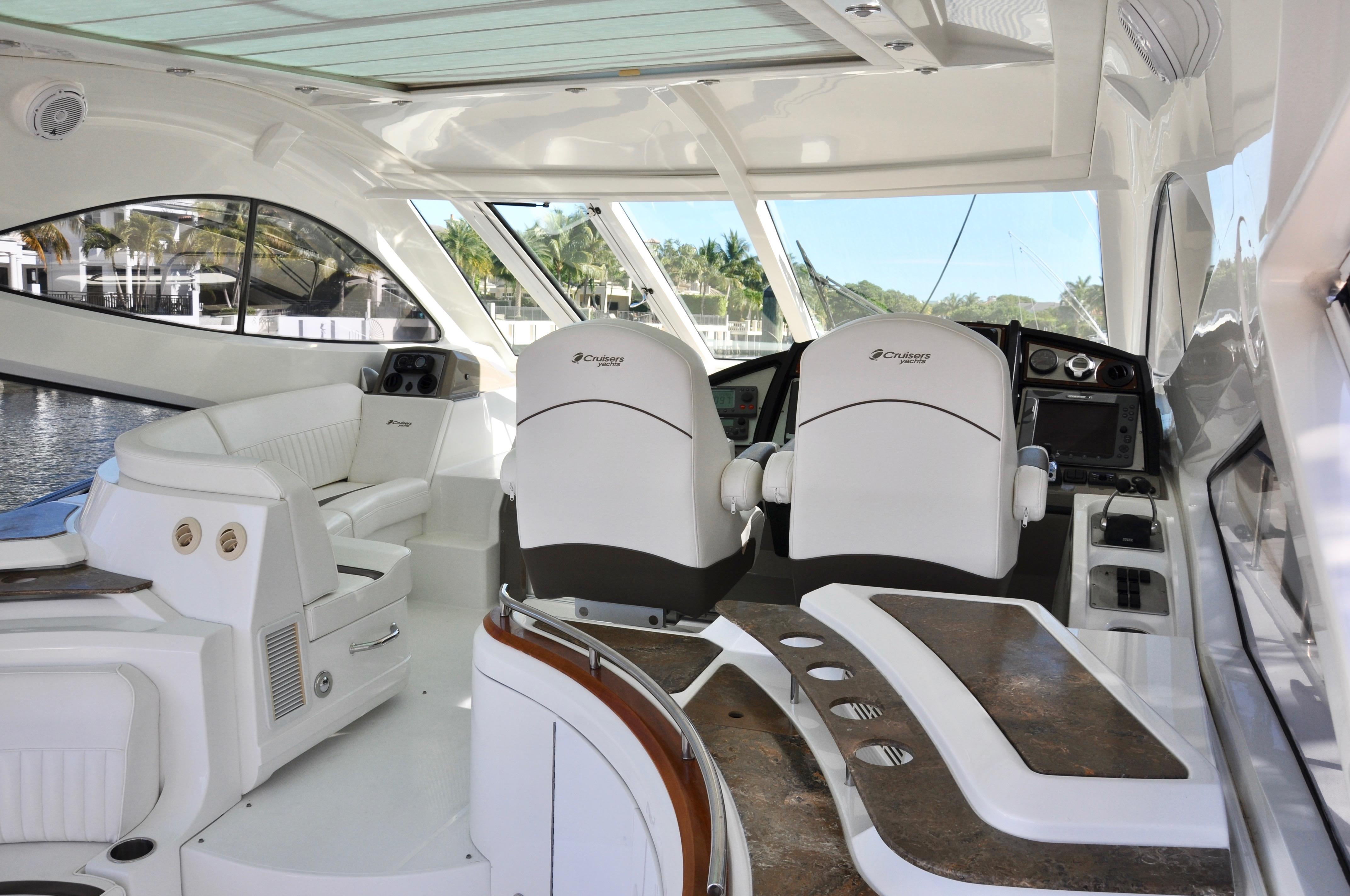 52 Cruisers Yachts 2009 Satisfaction Boca Raton Florida Sold On Wiring Diagram Upper Cockpit Level