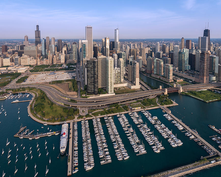DuSable Harbor Marina in Chicago, IL