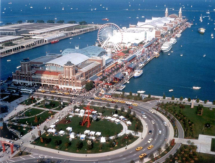 Navy Pier in Chicago, IL