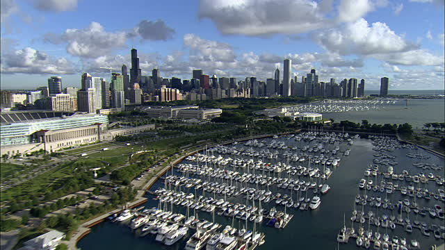 Burnham Harbor in Chicago, IL