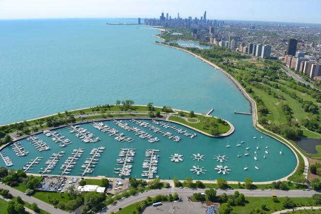 Montrose Harbor in Chicago, IL