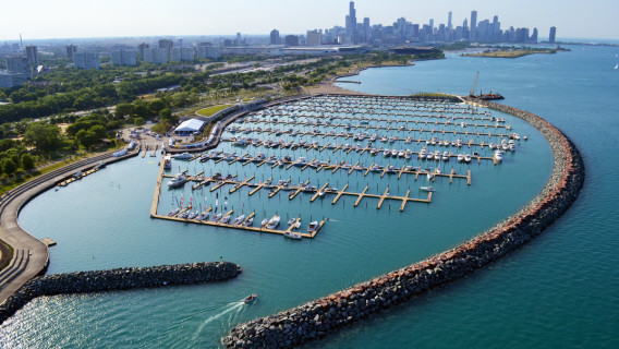 31st Street Harbor in Chicago, IL