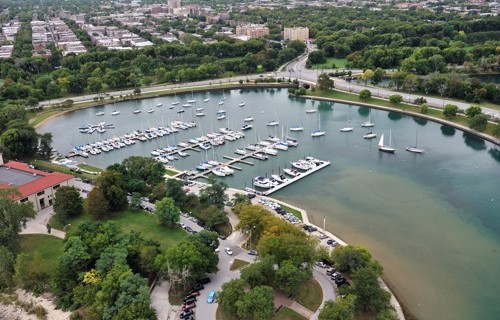 Jackson Park Outer Harbor in Chicago, IL