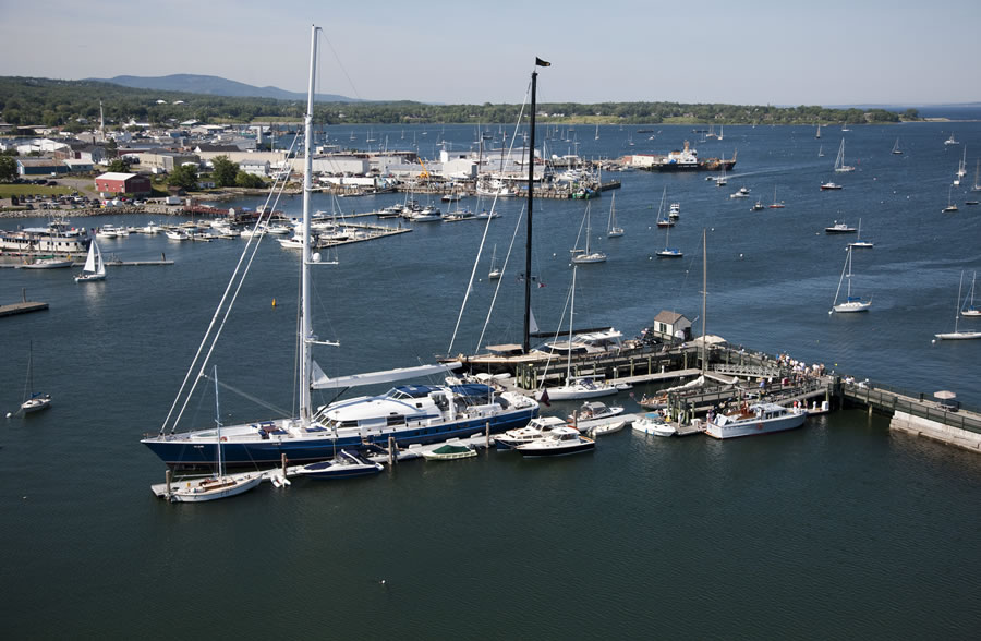Yachting Solutions Boat Basin in Rockland, ME