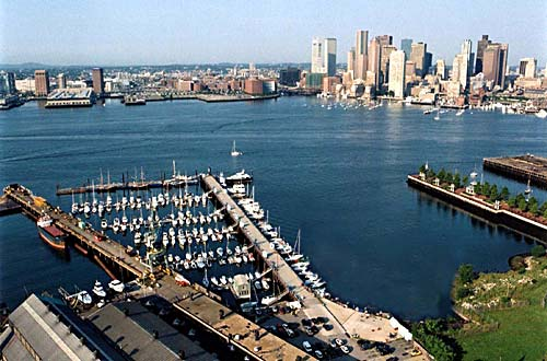 Boston Harbor Shipyard & Marina in East Boston, MA