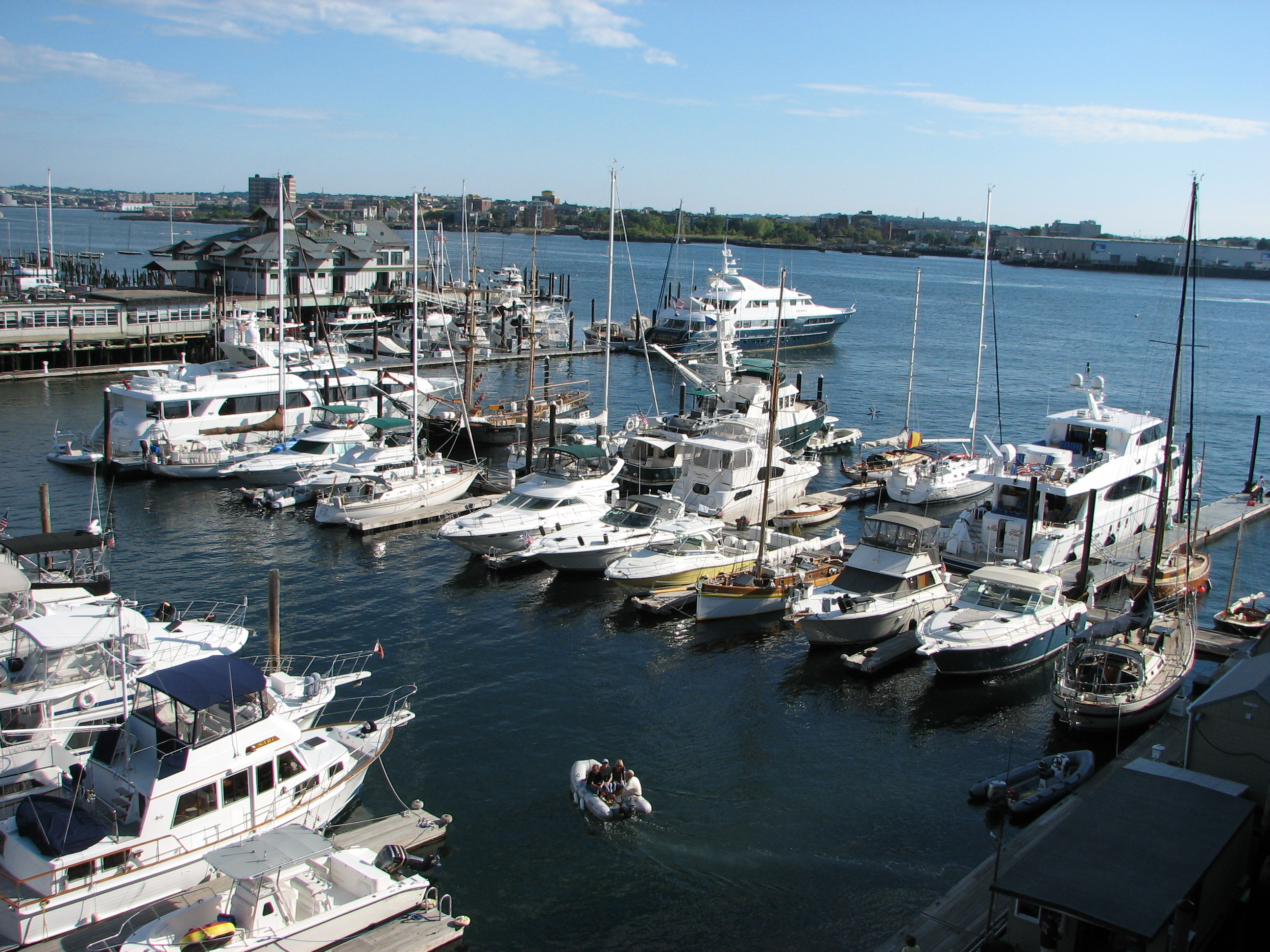 Boston Waterboat Marina in Boston, MA