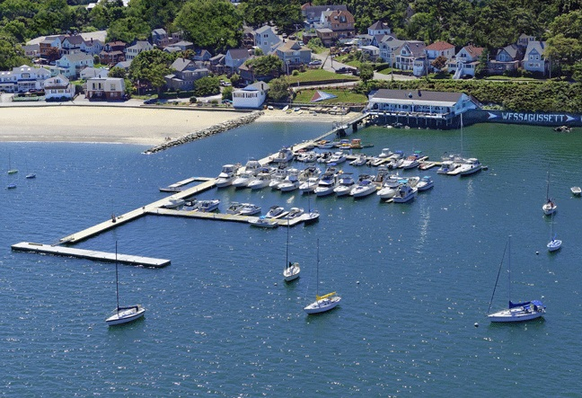Wessagussett Yacht Club in North Weymouth, MA