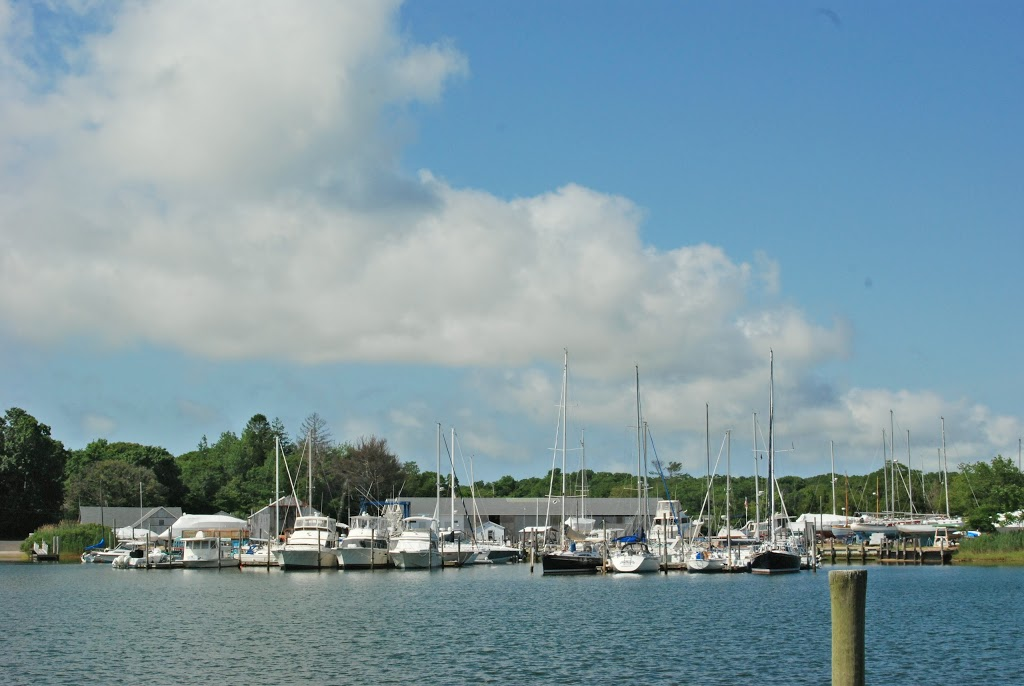 Three Mile Harbor Marina in East Hampton, NY
