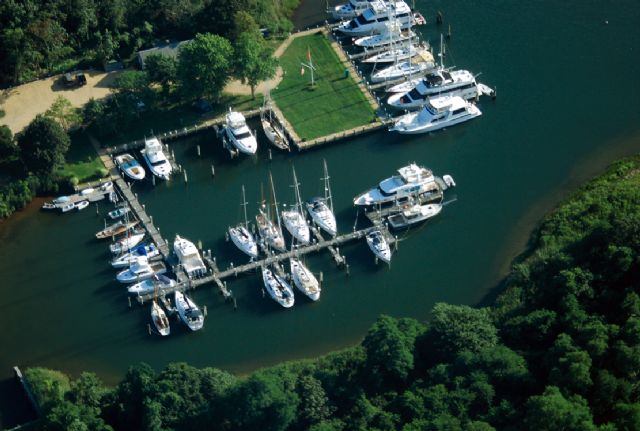 Halsey's Marina in East Hampton, NY