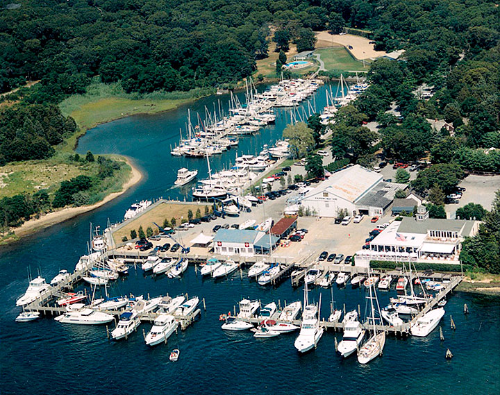 East Hampton Point Marina in East Hampton, NY