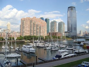 Liberty Landing Marina in Jersey City, NJ