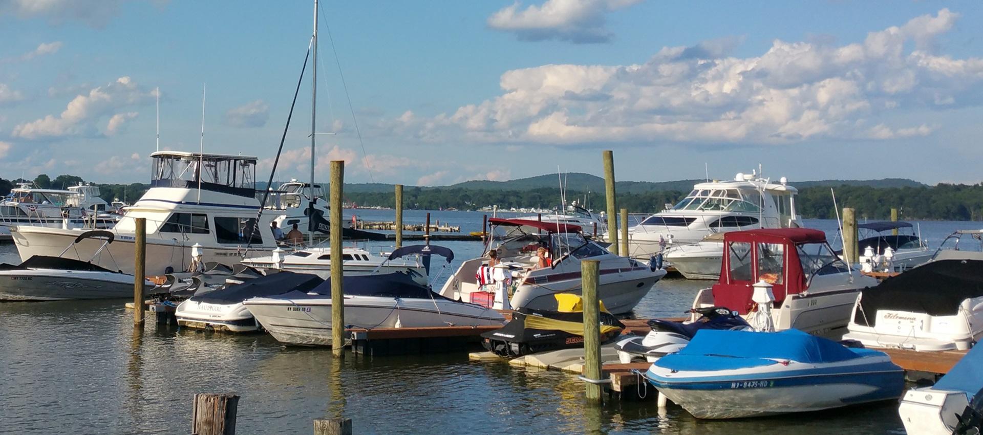 Patsys Bay Marina in Stony Point, NY