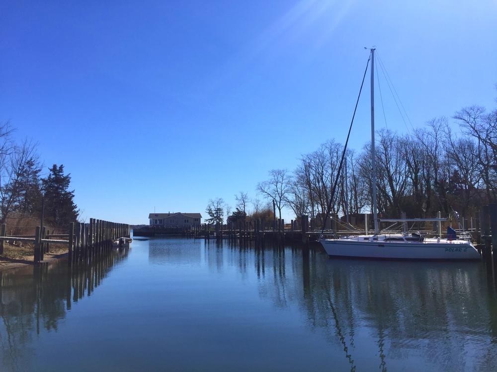 Schoolhouse Creek Marina in New Suffolk, NY
