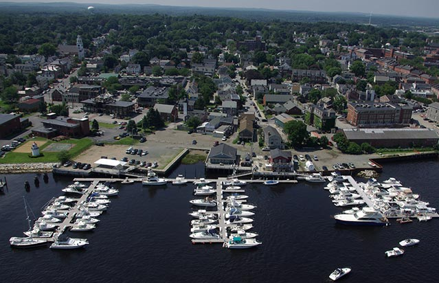 Newburyport Harbor Marina in Newburyport, MA