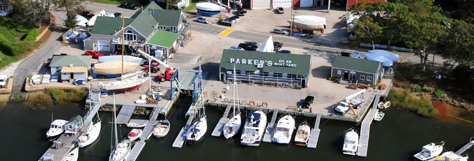 Parker's Boat Yard in Cataumet, MA