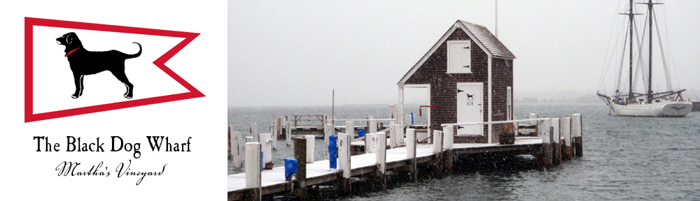 The Black Dog Wharf in Vineyard Haven, MA