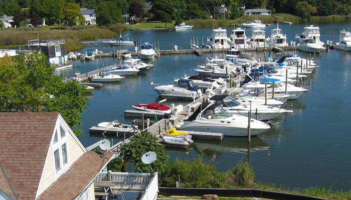 Treasure Cove Resort & Marina in Riverhead, NY