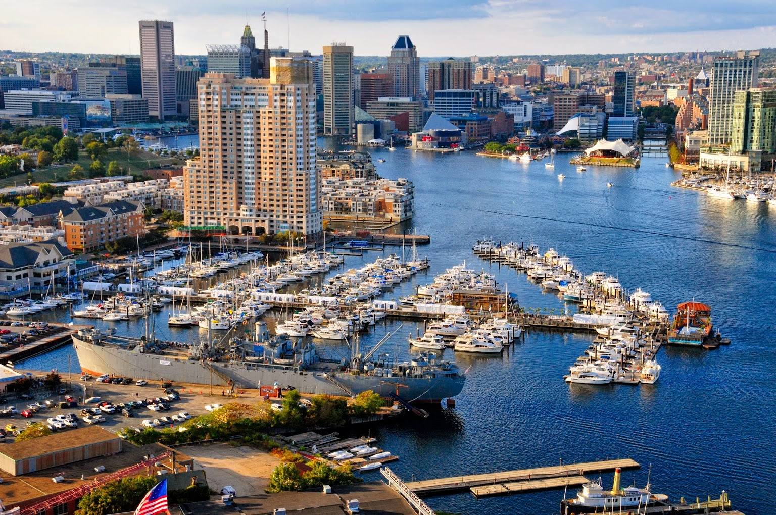 Baltimore Marine Centers at HarborView Marina in Baltimore, MD
