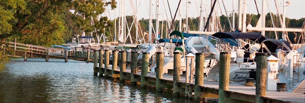 Bert Jabin Yacht Yard in Annapolis, MD