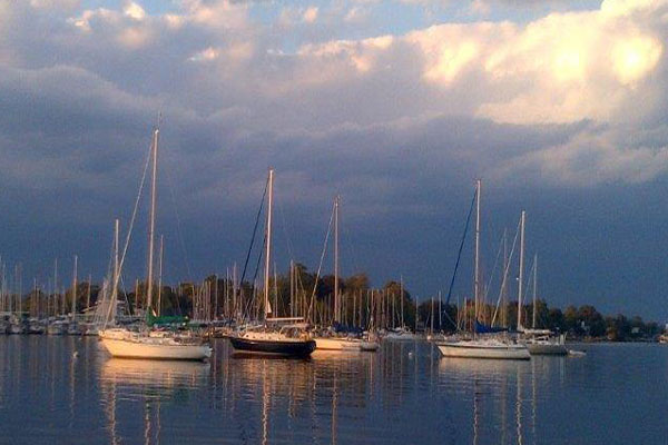 Hartge Yacht Harbor in Galesville, MD