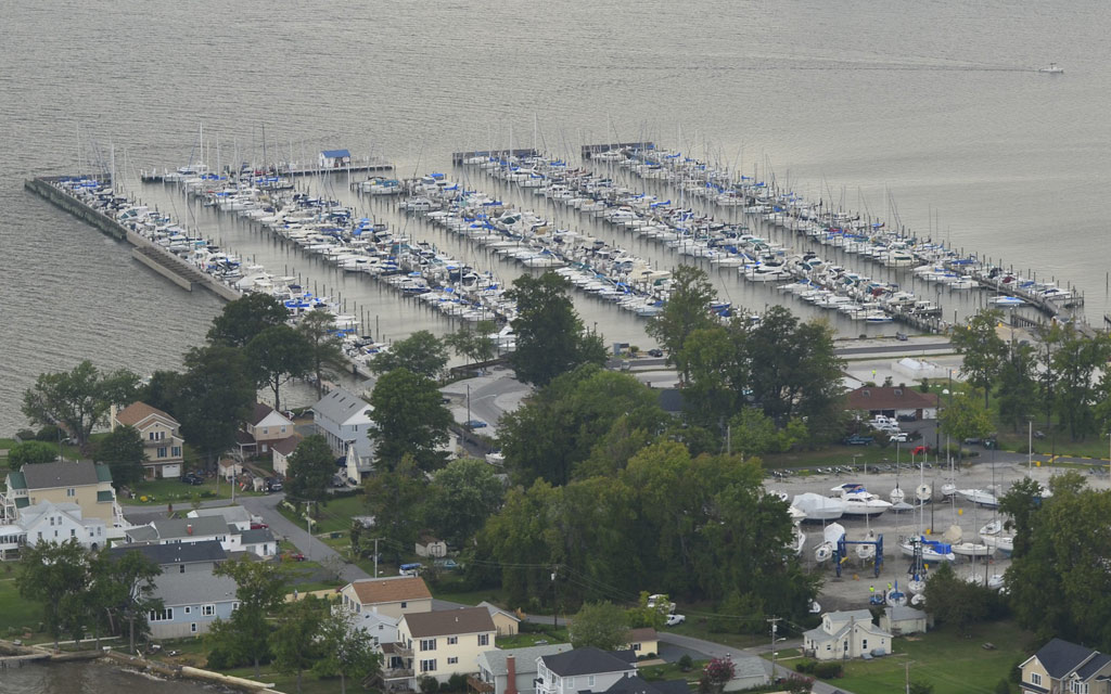 Bowleys Marina in Middle River, MD
