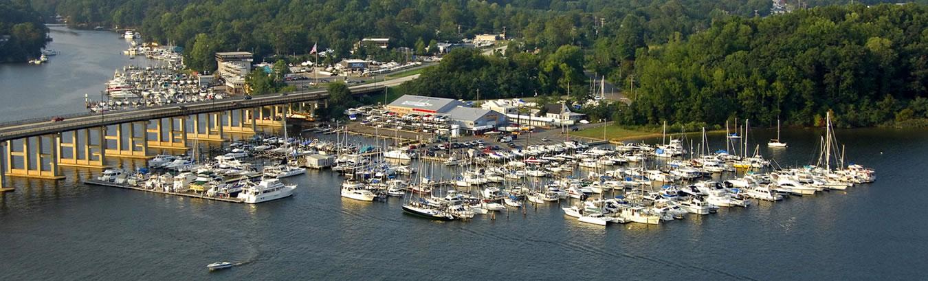 Liberty Marina in Edgewater, MD