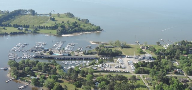 York River Yacht Haven in Gloucester Point, VA