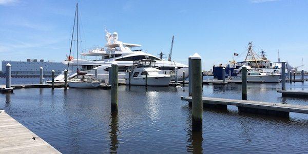 Ocean Yacht Marina in Portsmouth, VA