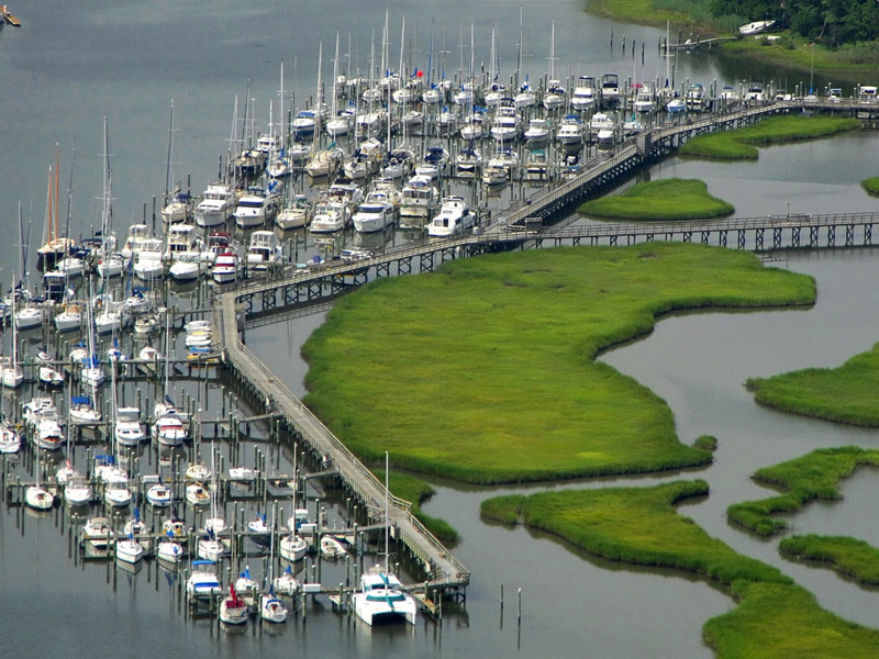 Southall Landings Marina in Hampton, VA