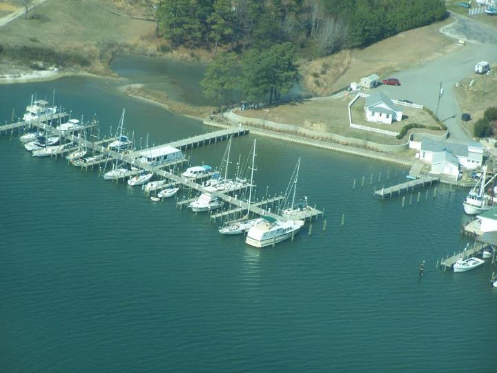 Carters Cove Marina in Weems, VA