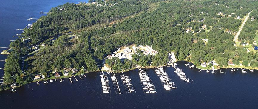 McCotters Marina & Boatyard in Washington, NC