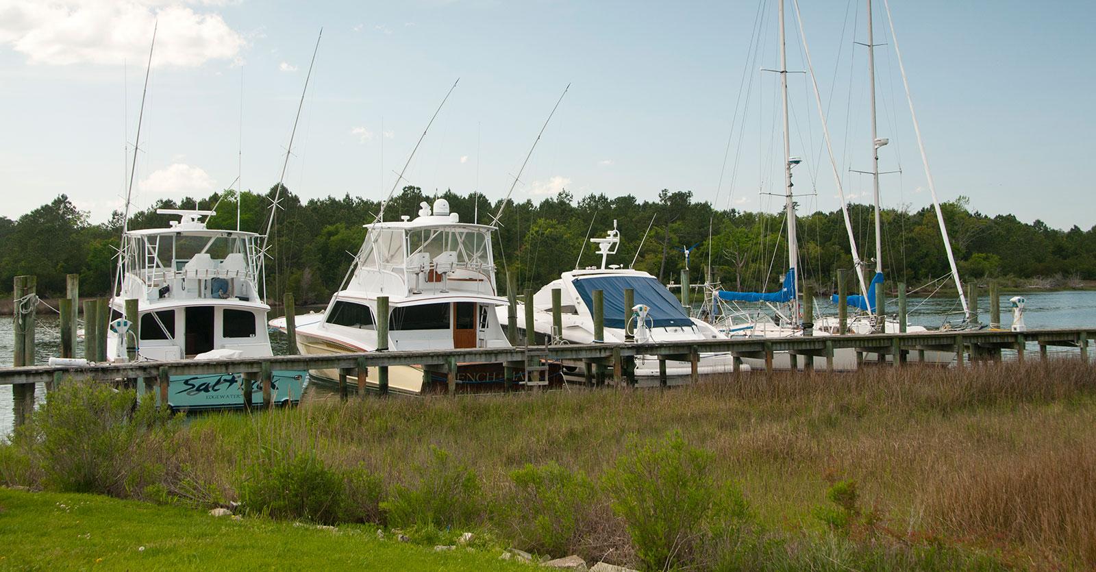 Jarrett Bay Boatworks in Beaufort, NC