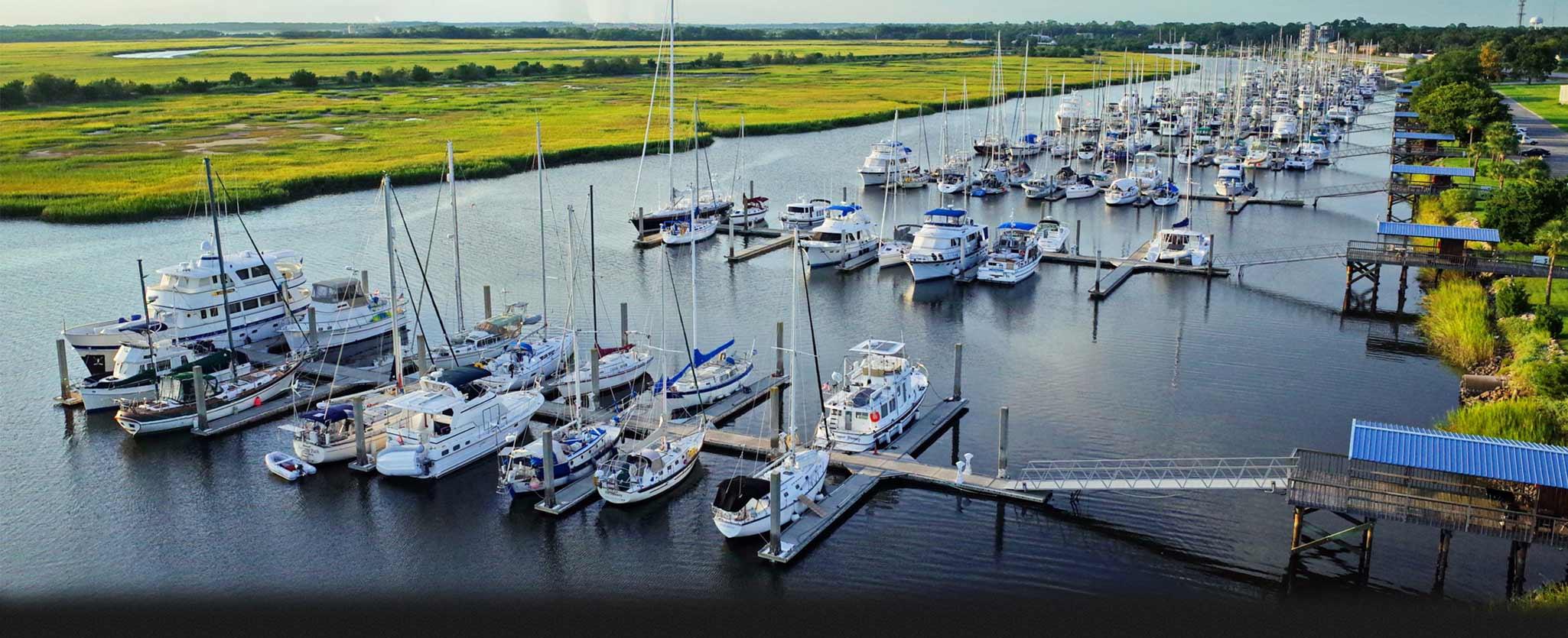 Brunswick Landing Marina in Brunswick, GA