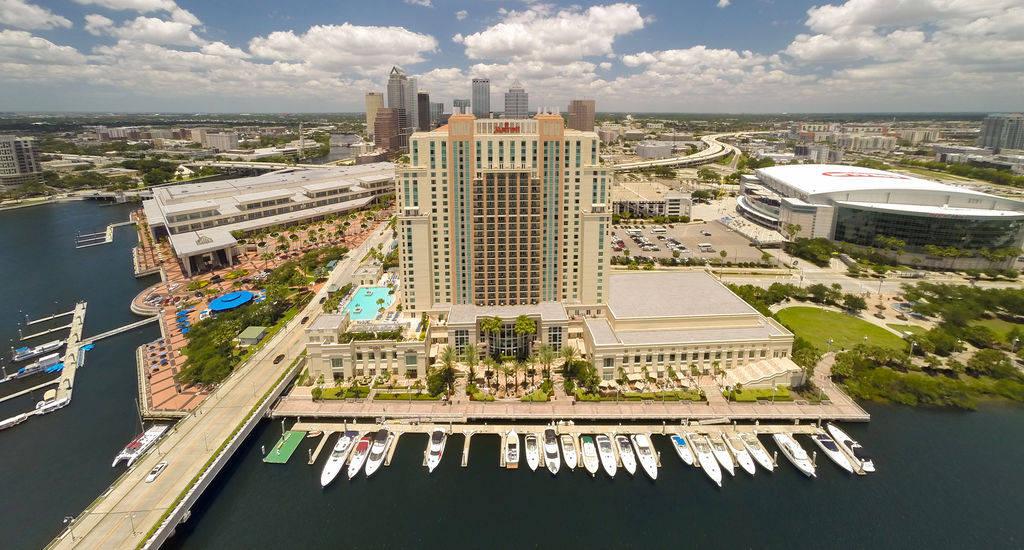 Tampa Marriott Waterside Marina in Tampa, FL