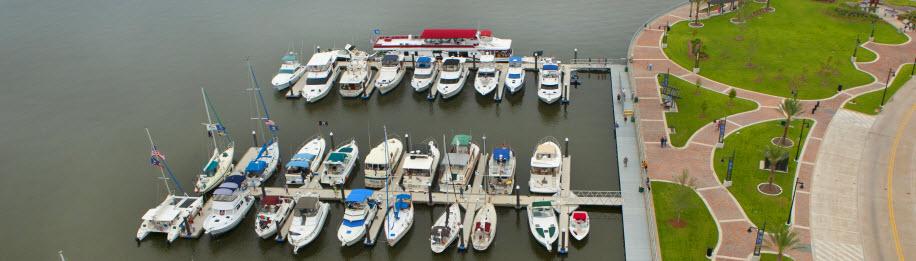 Bord du Lac Marina in Lake Charles, LA