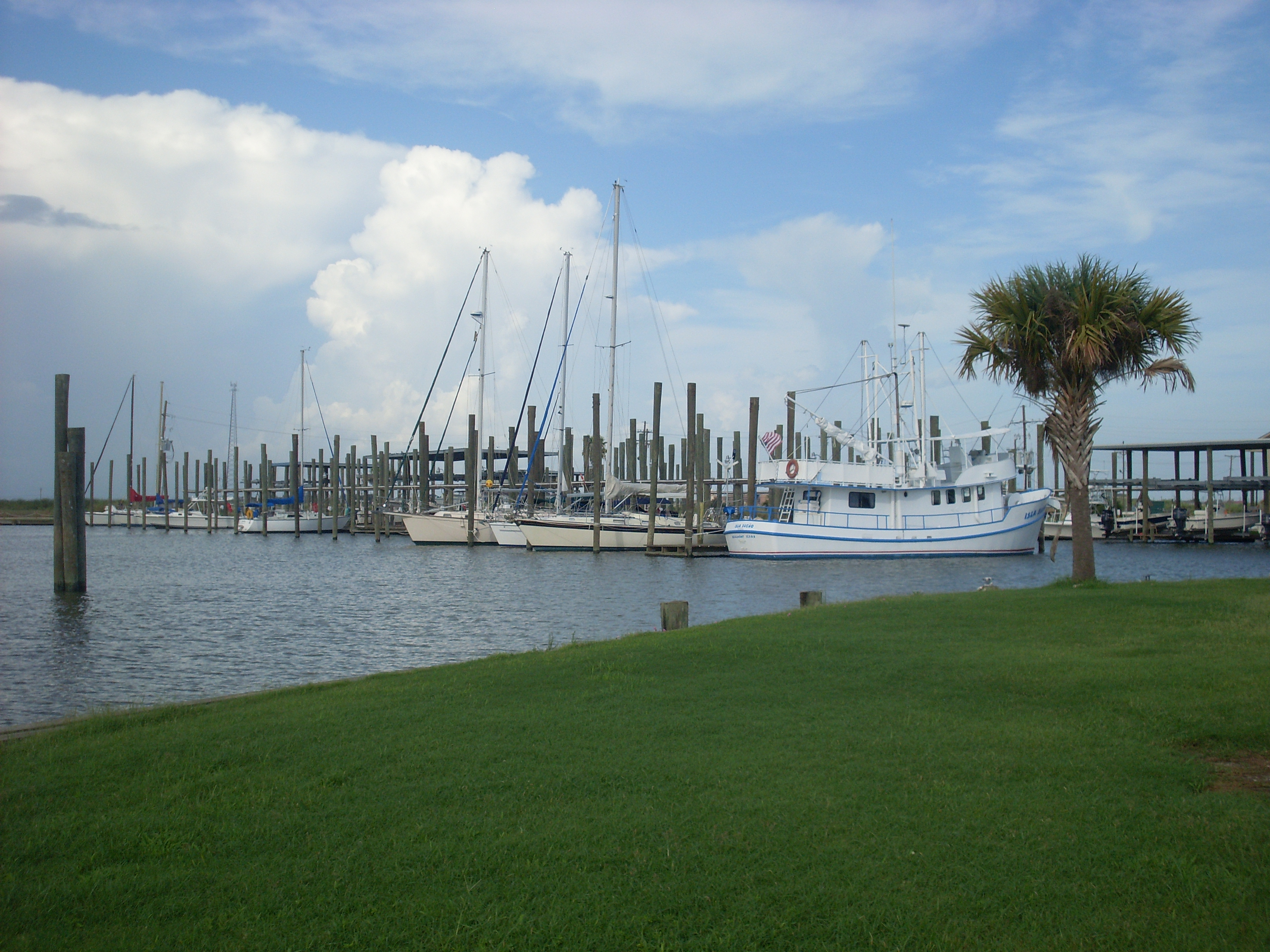Sabine Pass Port Authority Marina in Sabine Pass, TX