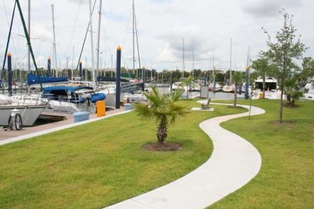 Watergate Yachting Center in Clear Lake Shores, TX