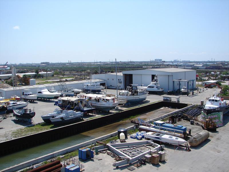 Pier 77 Marine Service in Galveston, TX