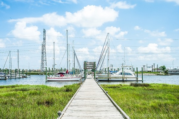 Blue Dolphin Yachting Center in Seabrook, TX