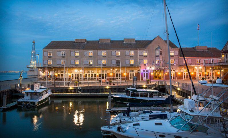 Harbor House Hotel & Marina at Pier 21 in Galveston, TX