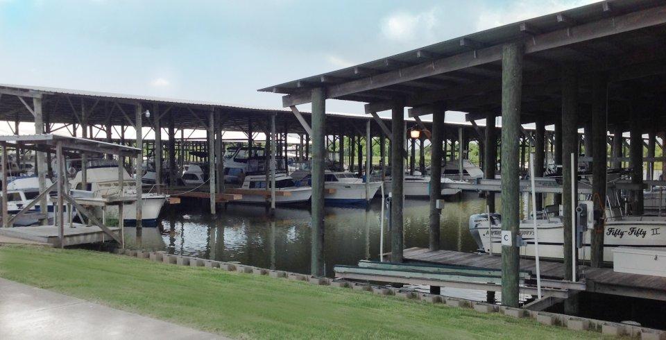 Kirby Marina in Freeport, TX