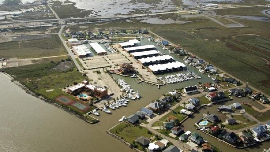 Bridge Harbor Yacht Club in Freeport, TX
