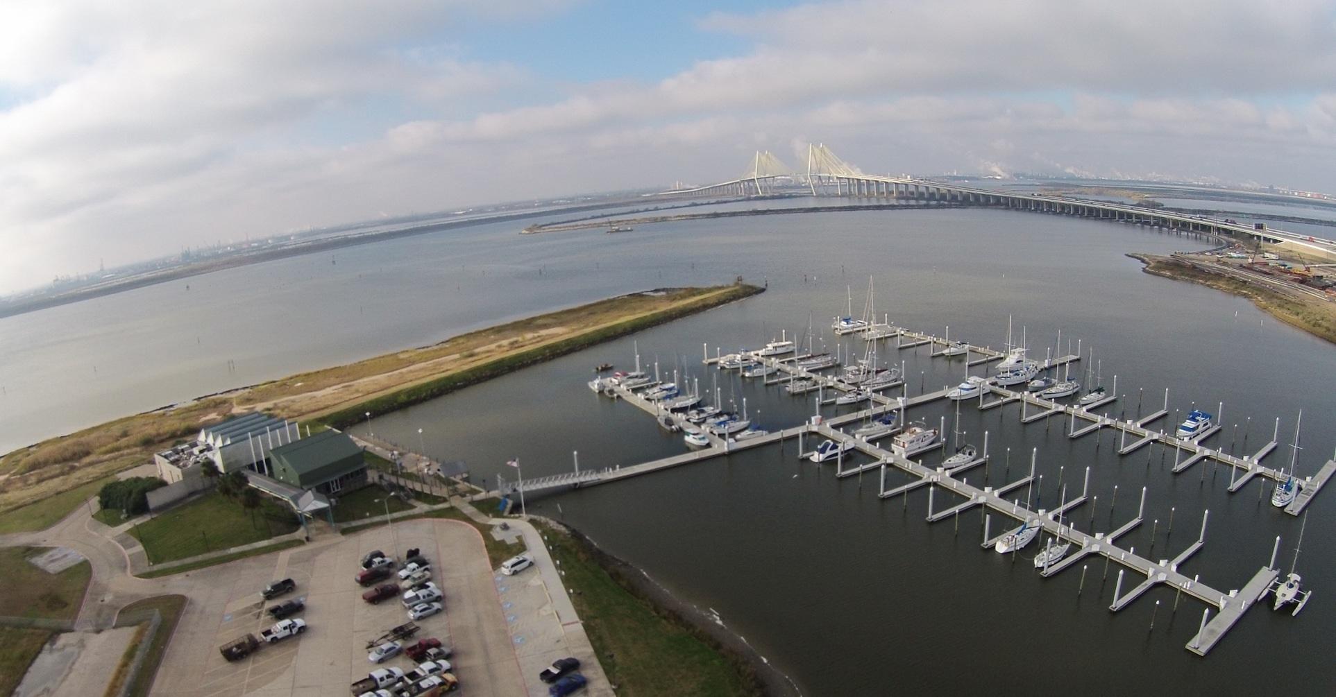 Bayland Marina in Baytown, TX