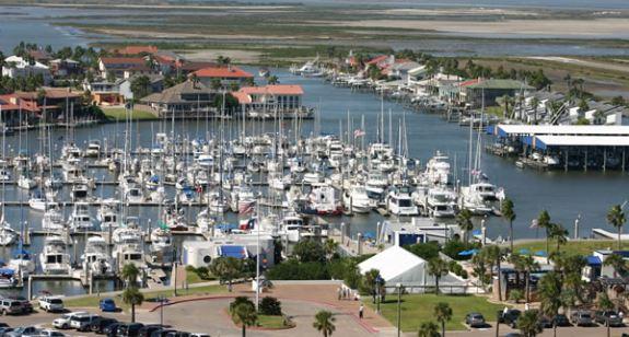 Island Moorings Marina & Yacht Club in Port Aransas, TX